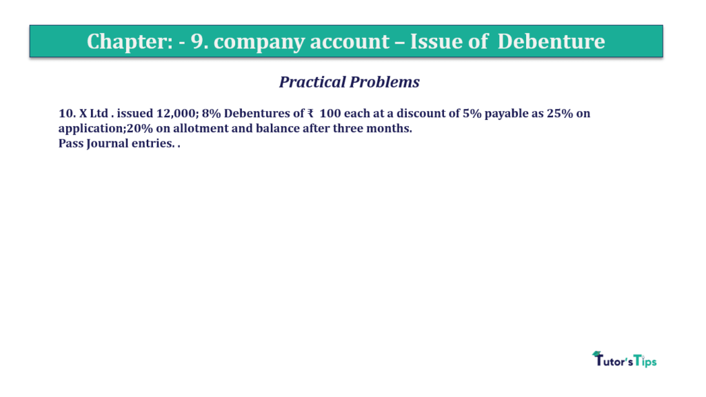 Question 10 Chapter 9 of +2-A
