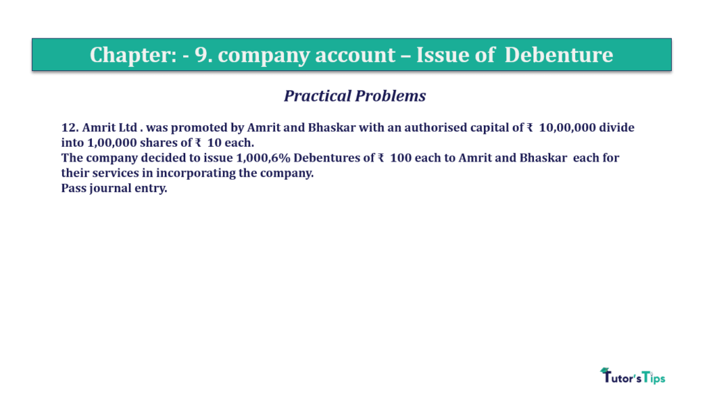 Question 12 Chapter 9 of +2-A