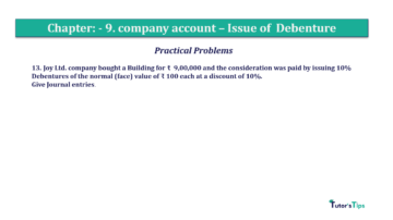 Question No13 Chapter No.9 T.S. Grewal 2 Book 2019 Solution min min 360x202 - Chapter No. 9 - Issue of Debentures - Solution - Class 12
