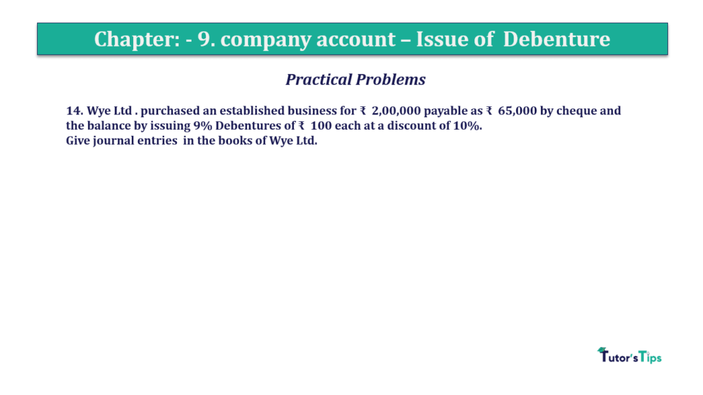 Question 14 Chapter 9 of +2-A