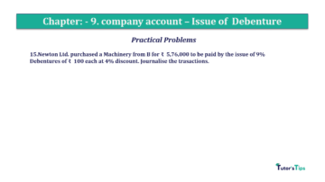 Question No15 Chapter No.9 T.S. Grewal 2 Book 2019 Solution min min 360x202 - Chapter No. 9 - Issue of Debentures - Solution - Class 12