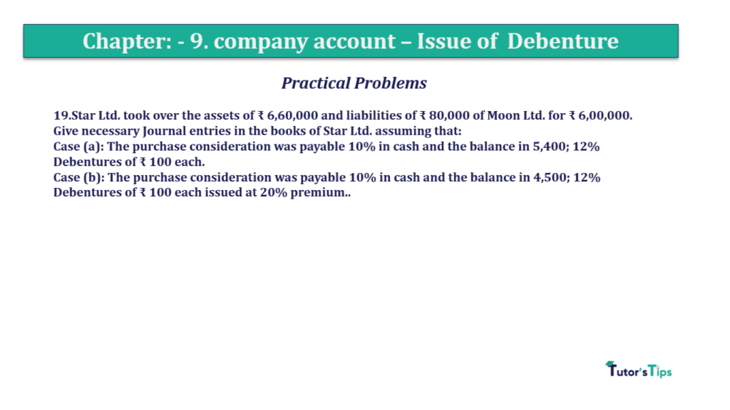 Question 19 Chapter 9 of +2-A