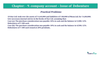 Question No19 Chapter No.9 T.S. Grewal 2 Book 2019 Solution min min 360x202 - Chapter No. 9 - Issue of Debentures - Solution - Class 12