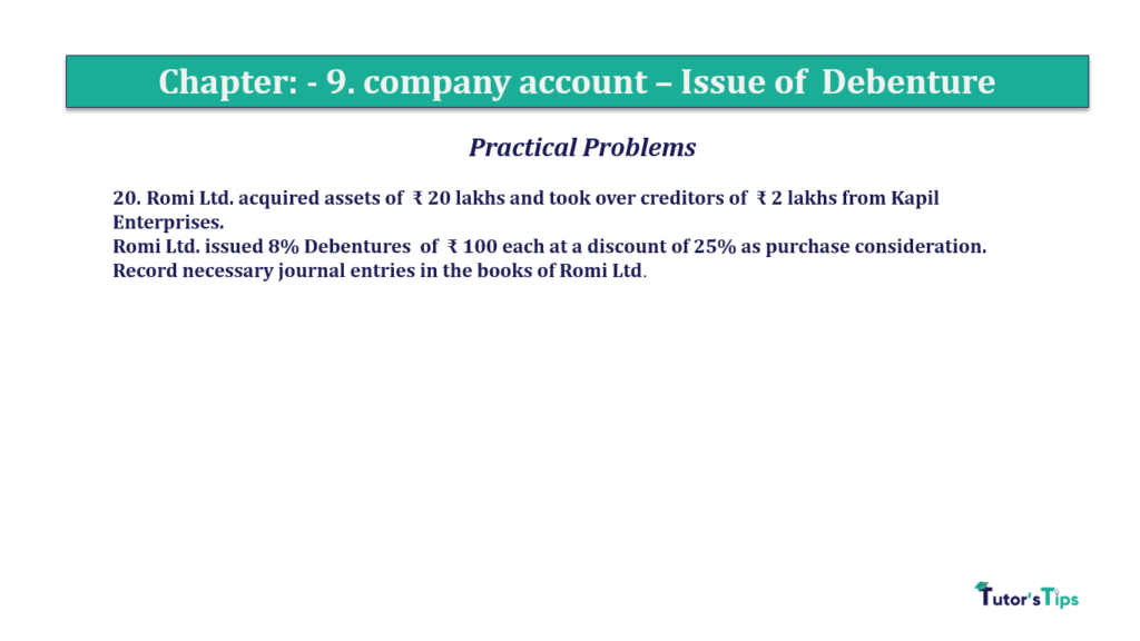 Question 20 Chapter 9 of +2-A