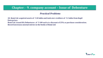 Question No21 Chapter No.9 T.S. Grewal 2 Book 2019 Solution min min 360x202 - Chapter No. 9 - Issue of Debentures - Solution - Class 12