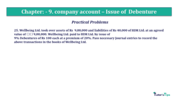 Question No25 Chapter No.9 T.S. Grewal 2 Book 2019 Solution min min 360x202 - Chapter No. 9 - Issue of Debentures - Solution - Class 12