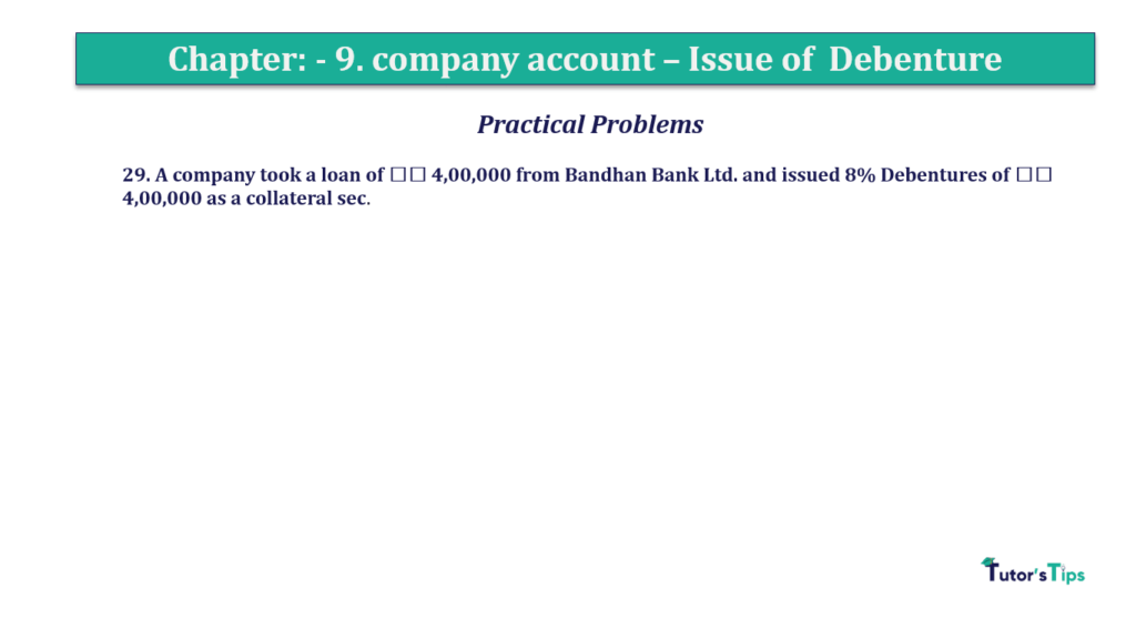 Question 29 Chapter 9 of +2-A