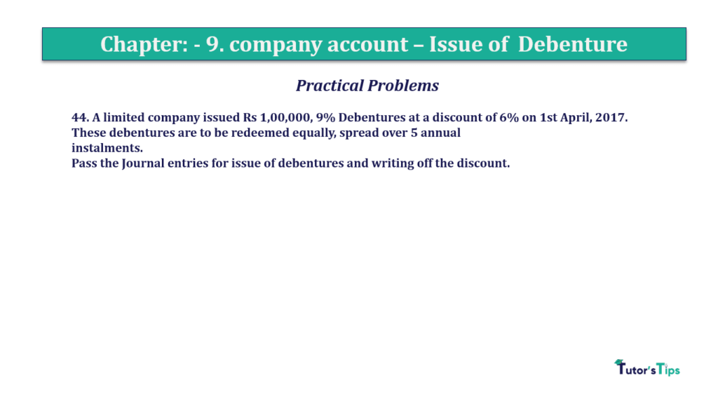 Question 44 Chapter 9 of +2-A