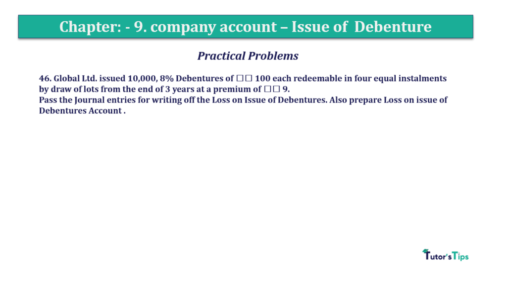 Question 46 Chapter 9 of +2-A