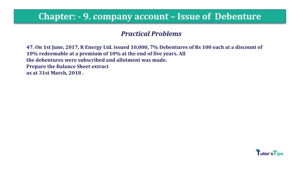 Question 47 Chapter 9 of +2-A