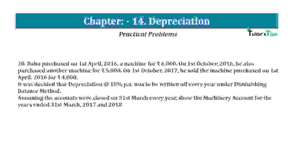 Question No 20 Chapter No 14