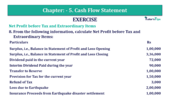 Question No. 08 Chapter No.5 T.S. Grewal 2 Book Part B min 360x202 - Chapter No. 5 - Cash Flow Statement - Solution - Class 12