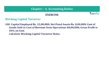 Question No. 100 Chapter No.4 T.S. Grewal 2 Book Part B min 360x202 - Chapter No. 4 - Accounting Ratios - Solution - Class 12