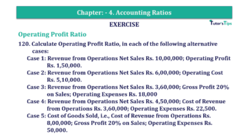 Question No. 120 Chapter No.4 T.S. Grewal 2 Book Part B min 360x202 - Chapter No. 4 - Accounting Ratios - Solution - Class 12