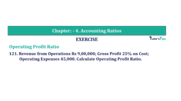 Question No. 121 Chapter No.4 T.S. Grewal 2 Book Part B min 360x202 - Chapter No. 4 - Accounting Ratios - Solution - Class 12