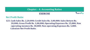Question No. 123 Chapter No.4 T.S. Grewal 2 Book Part B min 360x202 - Chapter No. 4 - Accounting Ratios - Solution - Class 12