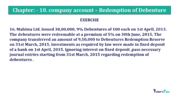 Question No. 16 Chapter No.10 T.S. Grewal 2 Book Part B min 360x202 - Chapter No. 10 - Redemption of Debentures - Solution - Class 12