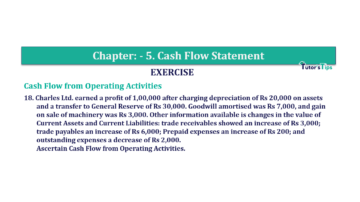 Question No. 18 Chapter No.5 T.S. Grewal 2 Book Part B min 360x202 - Chapter No. 5 - Cash Flow Statement - Solution - Class 12