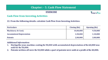Question No. 22 Chapter No.5 T.S. Grewal 2 Book Part B min 360x202 - Chapter No. 5 - Cash Flow Statement - Solution - Class 12