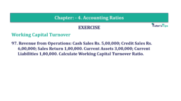 Question No. 97 Chapter No.4 T.S. Grewal 2 Book Part B min 360x202 - Chapter No. 4 - Accounting Ratios - Solution - Class 12