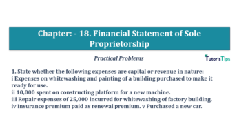 Question No.01 Chapter No.18 T.S. Grewal 1 Book 2019 Solution min min 360x202 - Chapter No. 18 - Financial Statements of Sole Proprietorship - Solution