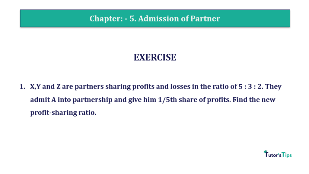 Question 01 Chapter 5of +2-A