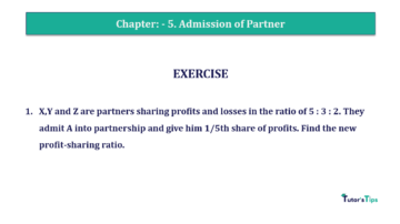 Question No.01 Chapter No.5 T.S. Grewal 2 Book 2019 Solution min min 360x202 - Chapter No. 5 - Admission of a Partner - Solution - Class 12