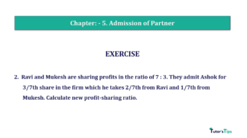 Question No.02 Chapter No.5 T.S. Grewal 2 Book 2019 Solution min min 360x202 - Chapter No. 5 - Admission of a Partner - Solution - Class 12