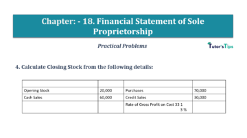 Question No.04 Chapter No.18 T.S. Grewal 1 Book 2019 Solution min min 360x202 - Chapter No. 18 - Financial Statements of Sole Proprietorship - Solution