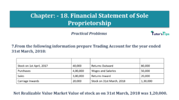 Question No.07 Chapter No.18 T.S. Grewal 1 Book 2019 Solution min min 360x202 - Chapter No. 18 - Financial Statements of Sole Proprietorship - Solution