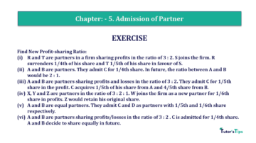 Question No.09 Chapter No.5 T.S. Grewal 2 Book 2019 Solution min min 360x202 - Chapter No. 5 - Admission of a Partner - Solution - Class 12