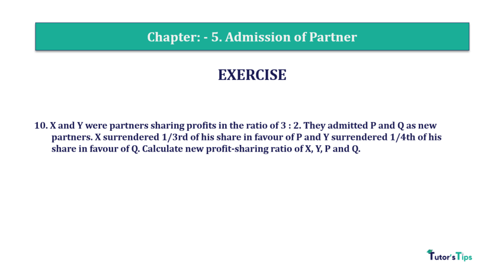 Question 10 Chapter 5 of +2-A