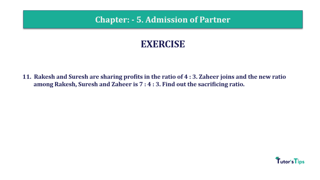 Question 11 Chapter 5 of +2-A