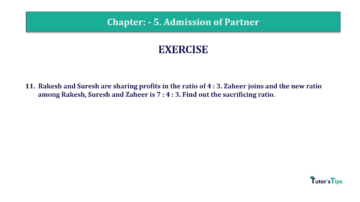 Question No.11 Chapter No.5 T.S. Grewal 2 Book 2019 Solution min min 360x202 - Chapter No. 5 - Admission of a Partner - Solution - Class 12