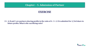 Question No.13 Chapter No.5 T.S. Grewal 2 Book 2019 Solution min min 360x202 - Chapter No. 5 - Admission of a Partner - Solution - Class 12