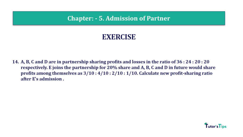 Question 14 Chapter 5of +2-A