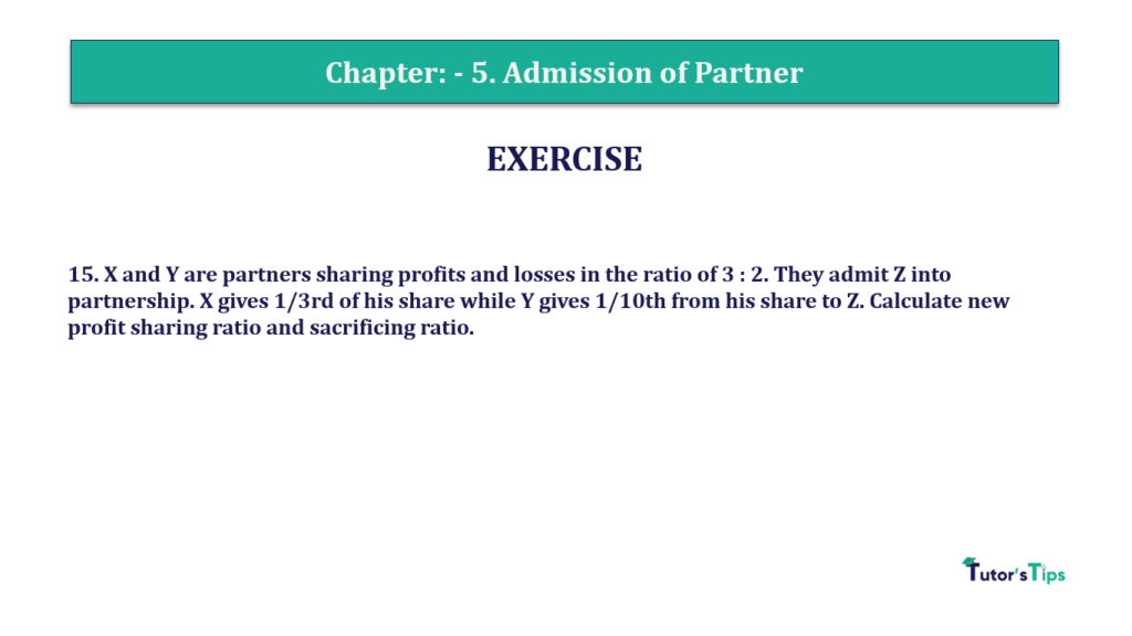 Question 15 Chapter 5of +2-A