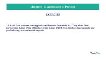 Question No.15 Chapter No.5 T.S. Grewal 2 Book 2019 Solution min min 360x202 - Chapter No. 5 - Admission of a Partner - Solution - Class 12