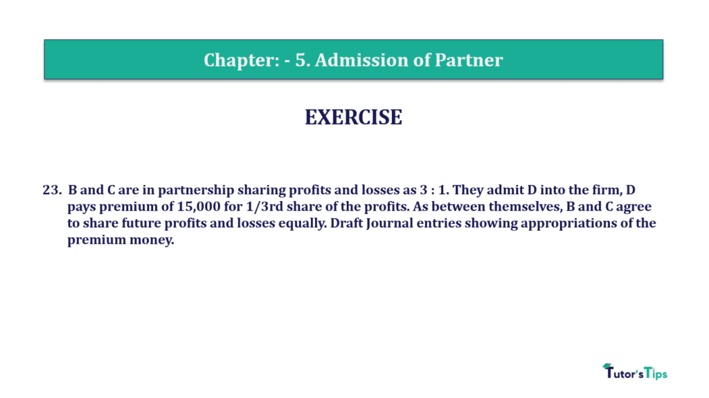 Question 23 Chapter 5of +2-A