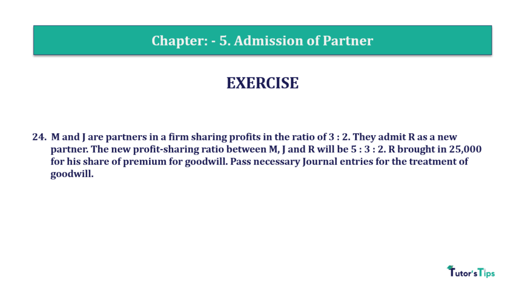 Question 24 Chapter 5 of +2-A