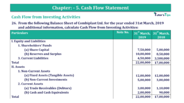 Question No.26 Chapter No.5 T.S. Grewal 2 Book 2019 Solution min min 1 360x202 - Chapter No. 5 - Cash Flow Statement - Solution - Class 12