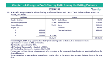 Question No.28 Chapter No.4 T.S. Grewal 2 Book 2019 Solution min min 360x202 - Chapter No. 4 – Change in Profit-Sharing Ratio Among the Existing Partners - Solution