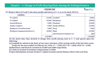 Question No.29 Chapter No.4 T.S. Grewal 2 Book 2019 Solution min min 360x202 - Chapter No. 4 – Change in Profit-Sharing Ratio Among the Existing Partners - Solution
