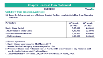 Question No.34 Chapter No.5 T.S. Grewal 2 Book 2019 Solution min min 1 360x202 - Chapter No. 5 - Cash Flow Statement - Solution - Class 12