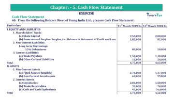 Question No.40 Chapter No.5 T.S. Grewal 2 Book 2019 Solution min min 360x202 - Chapter No. 5 - Cash Flow Statement - Solution - Class 12