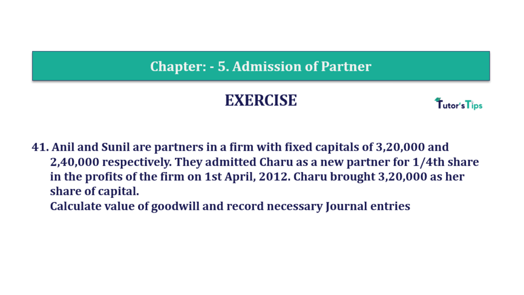 Question 41 Chapter 5of +2-A