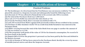 Question No.49 Chapter No.17 T.S. Grewal 1 Book 2019 Solution min min 360x202 - Chapter No. 17 - Rectification of Errors- Solution