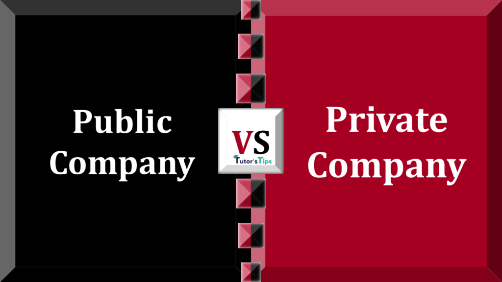 Difference between Public Company and Public Company