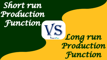 Difference between Short Run and Long Run Production Function 360x203 - Differences - Economics