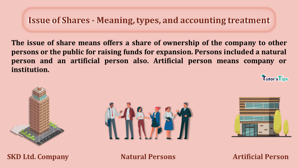 Issue of Shares - Meaning, types, and accounting treatment-min
